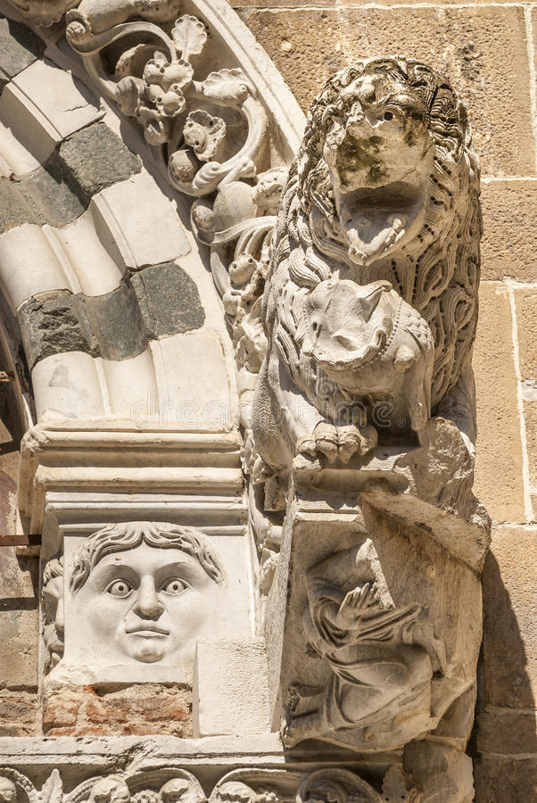 Free Lucca (Tuscany) - Detail Of San Giusto Church Royalty Free Stock Photos - 30875178