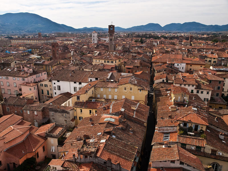 Download Lucca, Tuscany, Italy stock image. Image of roofs, roof - 14306067