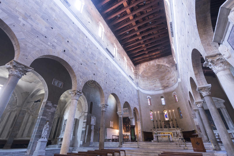 Lucca (Tuscany, Italy), San Frediano royalty free stock image