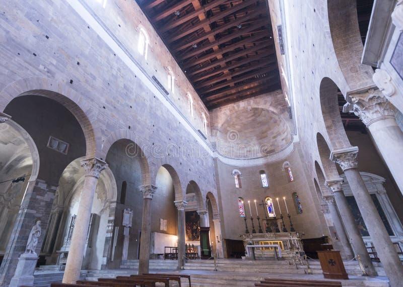 Lucca (Tuscany, Italy), San Frediano royalty free stock photos