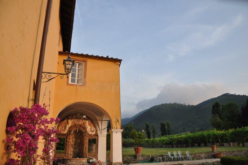 Lucca Tuscany Włochy obraz royalty free