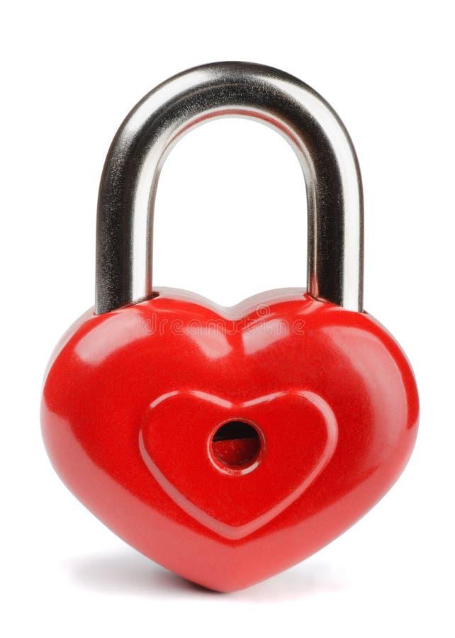 Lucchetto del cuore immagini stock libere da diritti