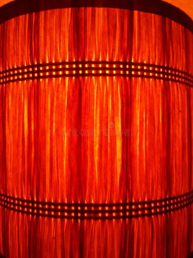 Luce arancio fotografie stock