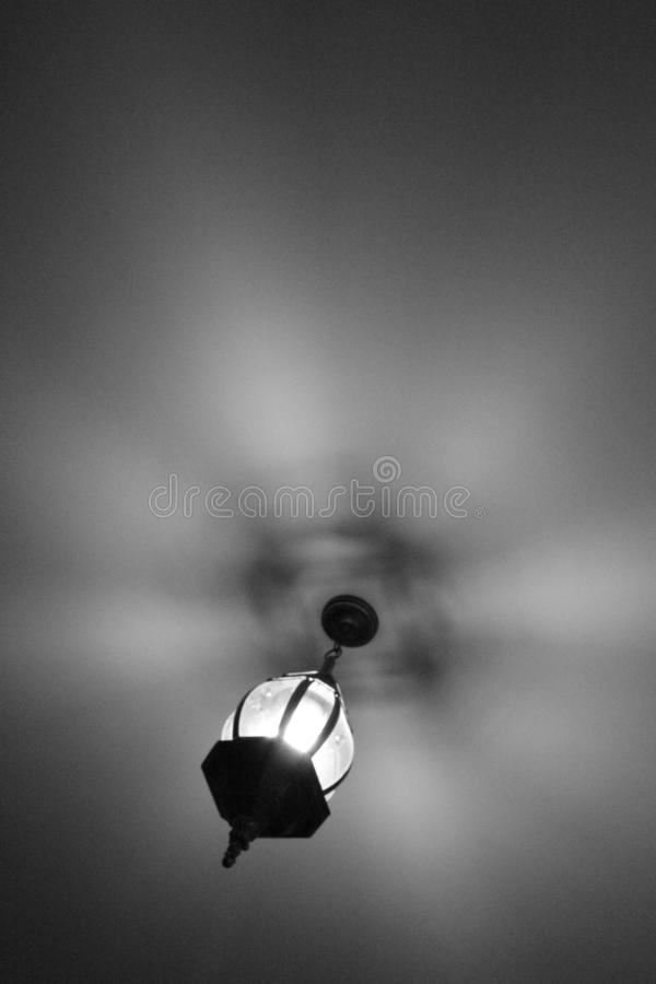 Luce in bianco e nero fotografie stock