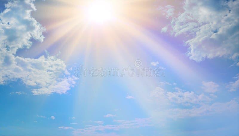 Luce celeste miracolosa raramente veduta fotografia stock libera da diritti