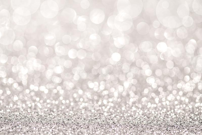 Luce d'argento di scintillio illustrazione vettoriale