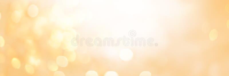 Luce Defocused del punto del fondo astratto di Natale fotografia stock libera da diritti