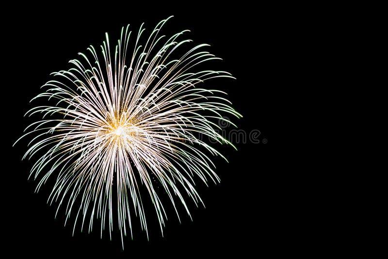 Luce dei fuochi d'artificio fotografie stock libere da diritti