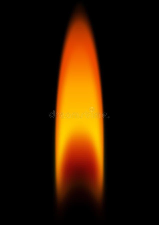 Luce della candela illustrazione di stock