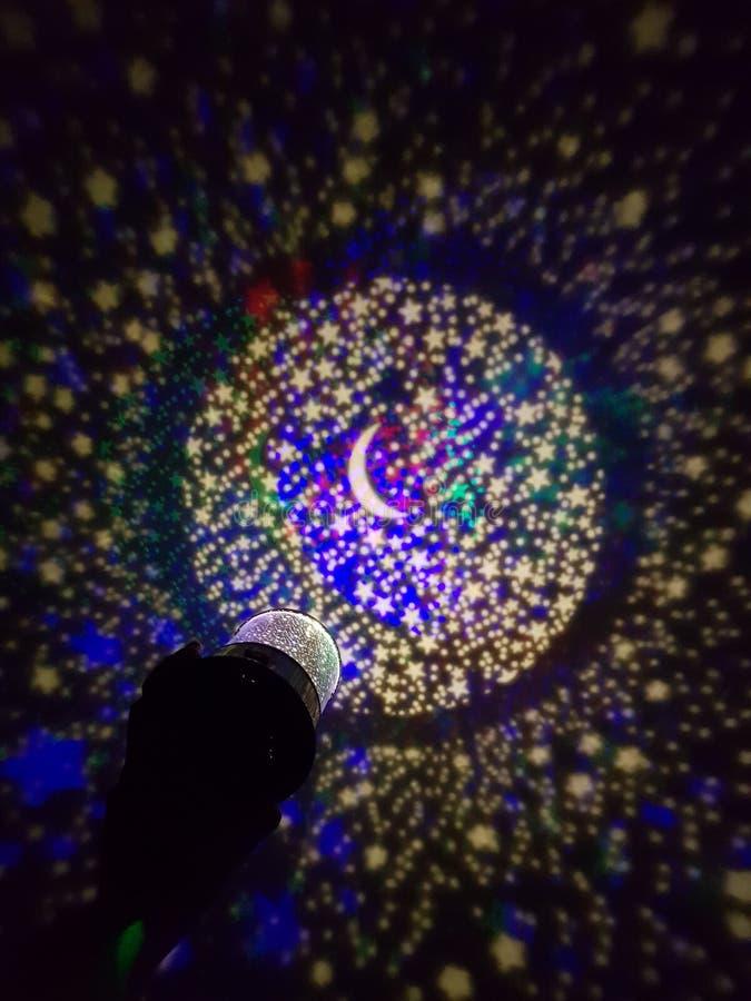 Luce della stella fotografie stock