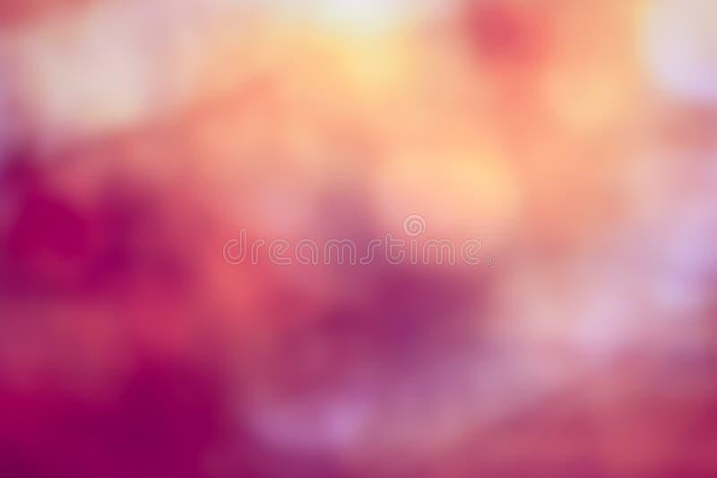 Luce di Bokeh sul fondo di colore pastello fotografie stock libere da diritti
