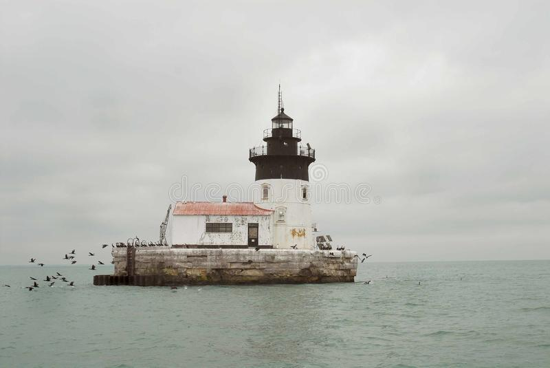 Luce di Detroit fotografia stock libera da diritti