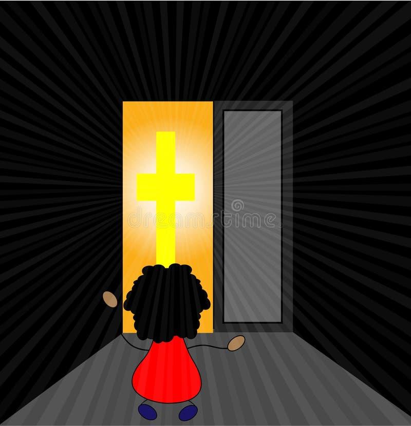 Luce di Gesù royalty illustrazione gratis