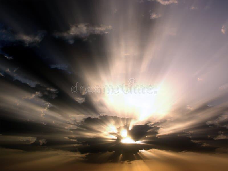 Luce di speranza fotografie stock