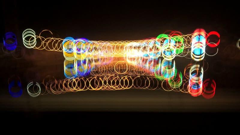 Luce fantastica immagini stock