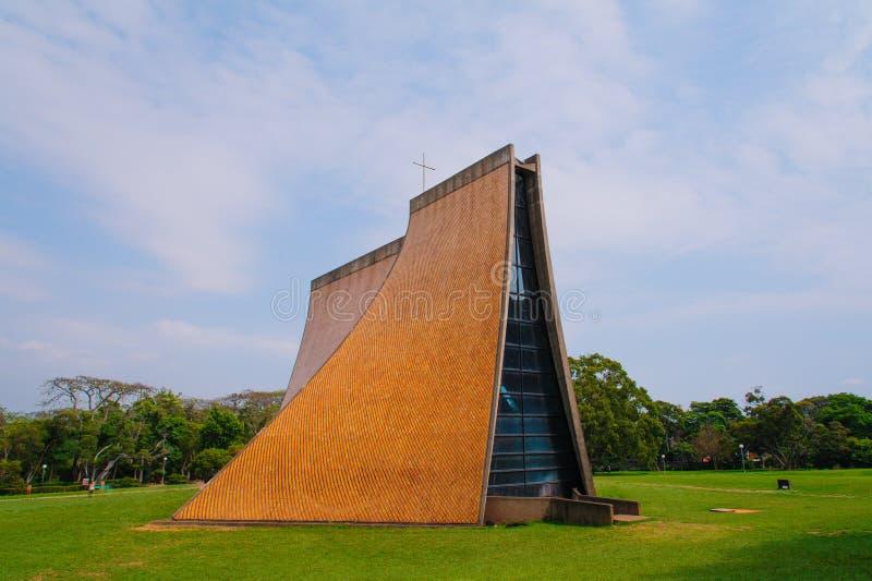 Luce Memorial Chapel em Taichung imagens de stock