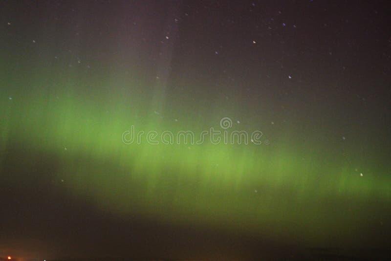 Luce nordica fotografie stock libere da diritti