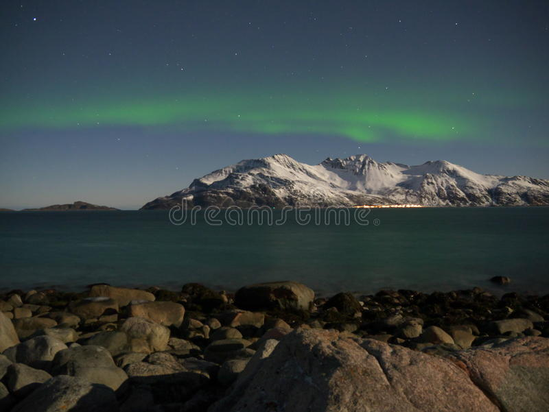 Luce nordica fotografie stock