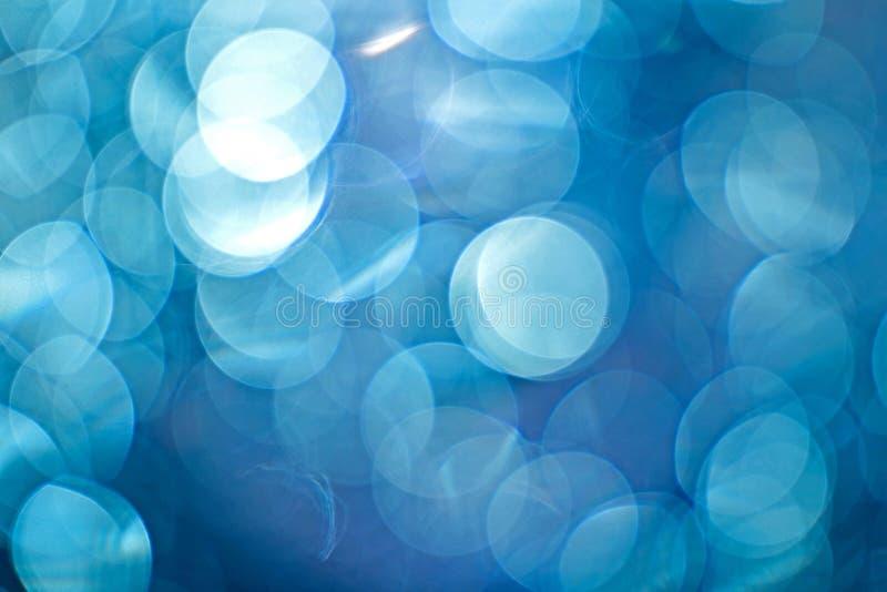 Luce notturna e fondo astratto del bokeh immagine stock libera da diritti