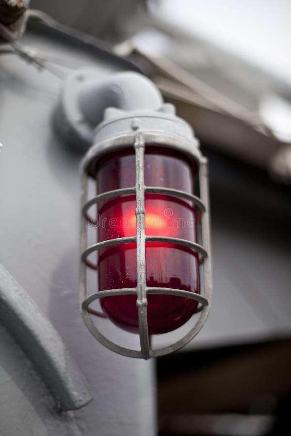 Luce rossa immagine stock libera da diritti