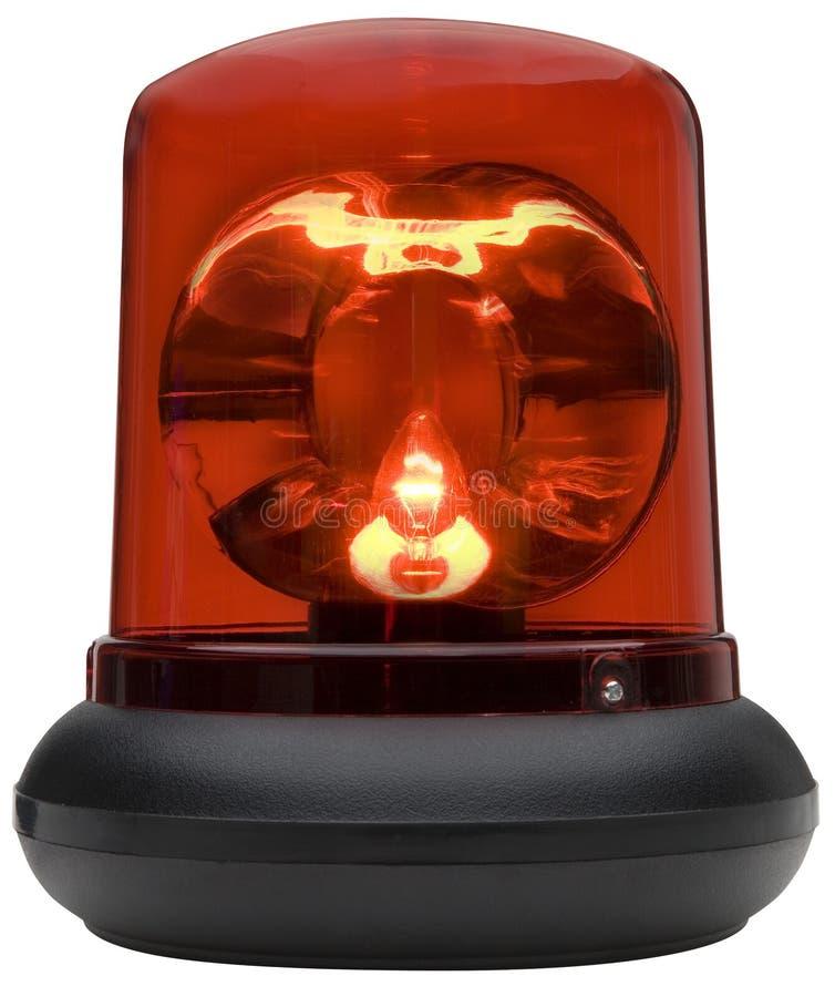 Luce rossa immagine stock