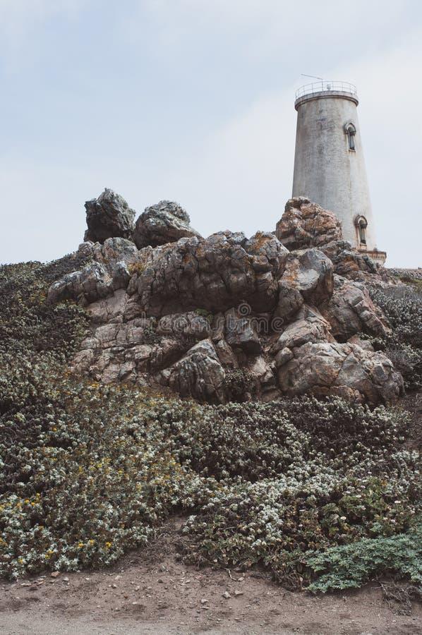 Luce Staion di Piedras Blancas fotografia stock