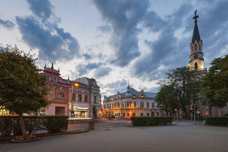Lucenec, Slowakei lizenzfreie stockbilder