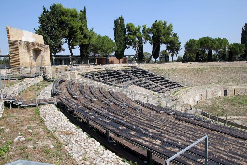 Lucera romano fotografia stock