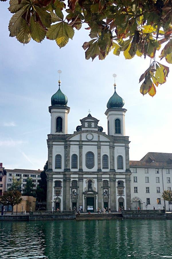 lucern瑞士 库存图片