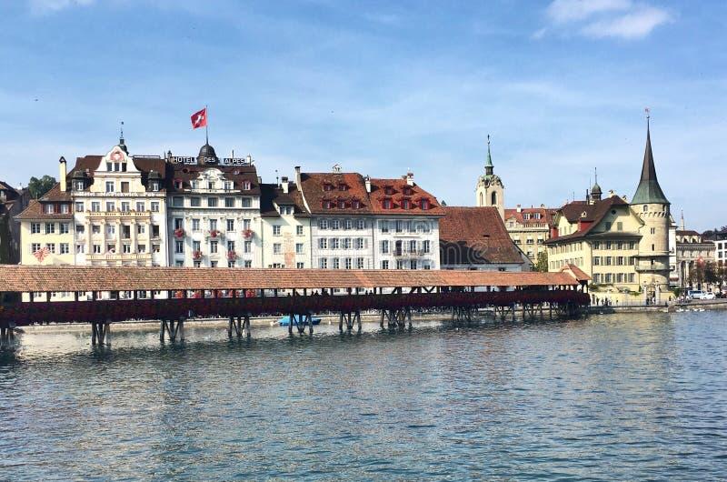 lucern瑞士 免版税库存图片