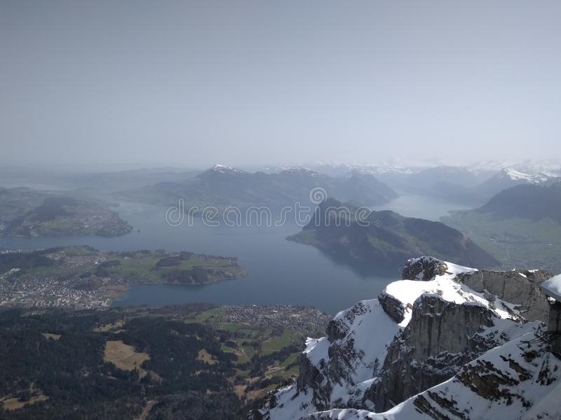 Lucern, Pilatus stock photos