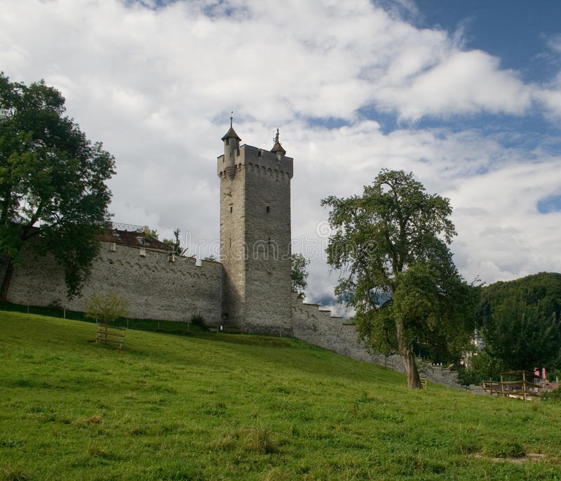Lucerna-The Castle Royalty Free Stock Photos