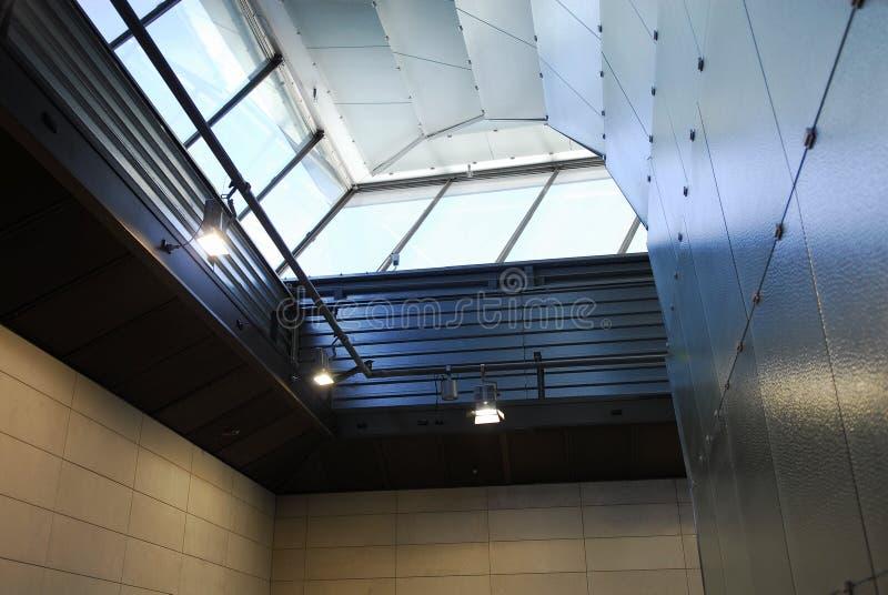 Lucernario del museo dell'Australia Melbourne immagine stock libera da diritti