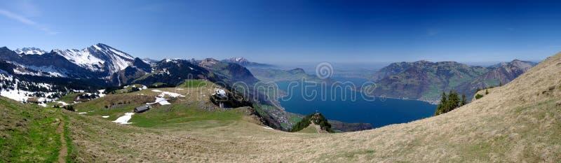 lucerne озера стоковые фото