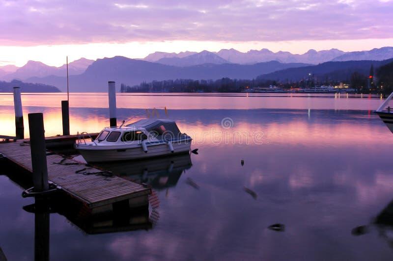 lucerne Швейцария озера стоковые фотографии rf