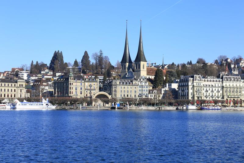 lucerne Швейцария стоковое изображение