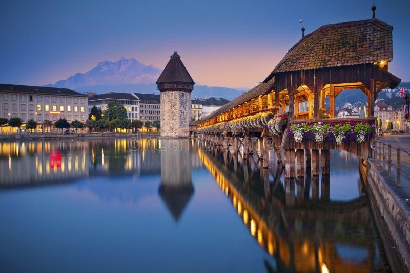 Lucerne. stock images