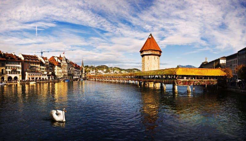 lucerne switzerland fotografering för bildbyråer