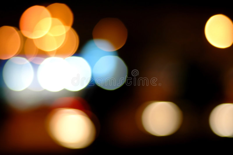 Luces abstractas imagen de archivo