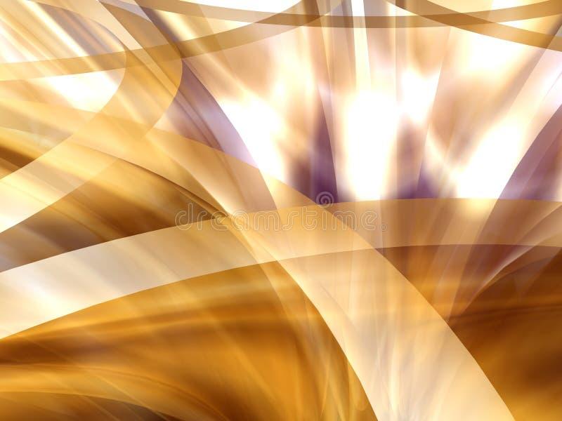 Luces abstractas ilustración del vector