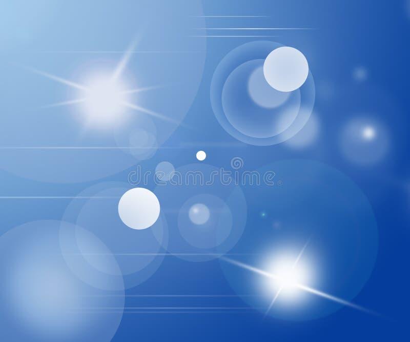 Luces abstractas stock de ilustración
