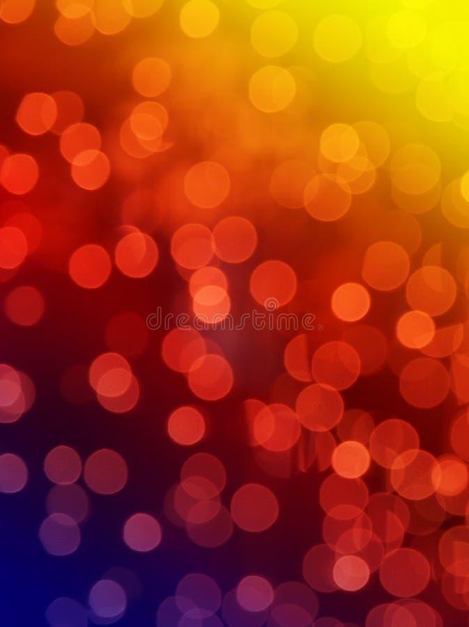 Luces abstractas del arco iris fotos de archivo