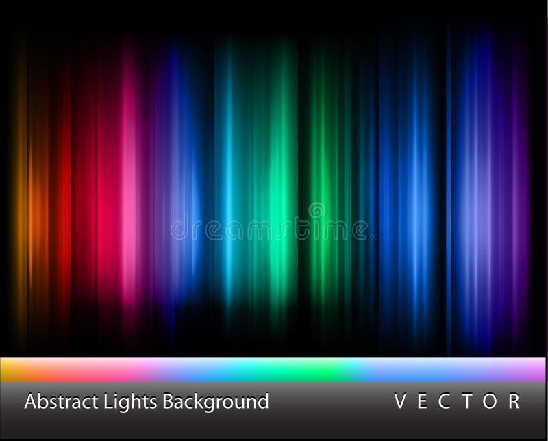 Luces abstractas del vector libre illustration