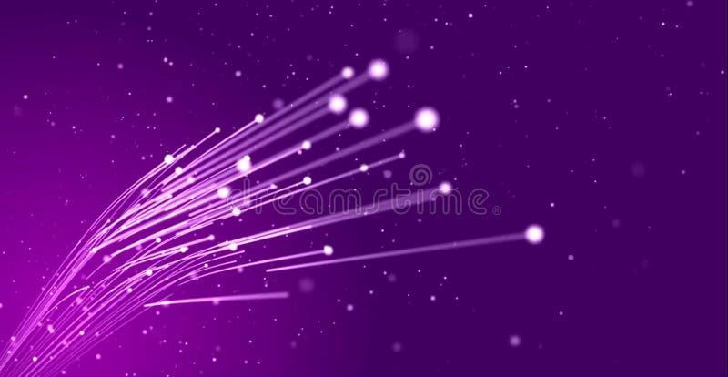 Luces azules hermosas stock de ilustración