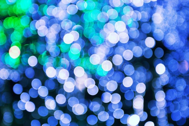 Luces borrosas foto de archivo