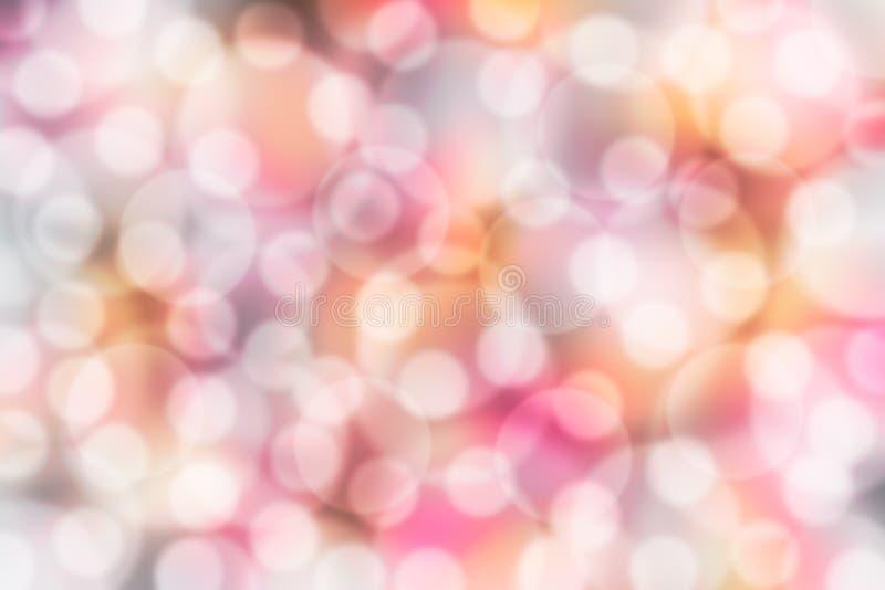 Download Luces borrosas del bokeh stock de ilustración. Ilustración de pink - 41916151