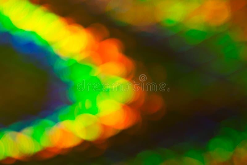 Luces coloreadas difundidas para los papeles pintados foto de archivo libre de regalías