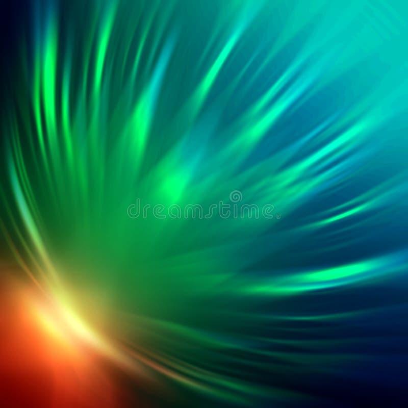 Luces coloridas stock de ilustración