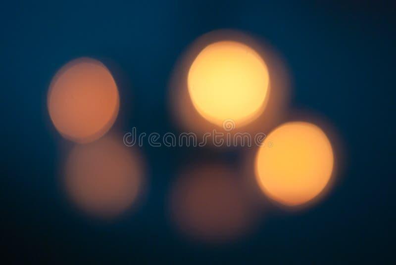 Luces de Bokeh. fotografía de archivo libre de regalías