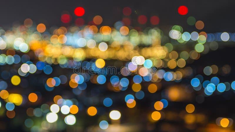 Luces de Bokeh fotografía de archivo libre de regalías